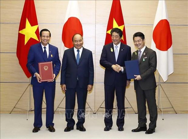 Le Vietnam et le Japon cooperent sur l'envoi de travailleurs a qualification specifique hinh anh 1