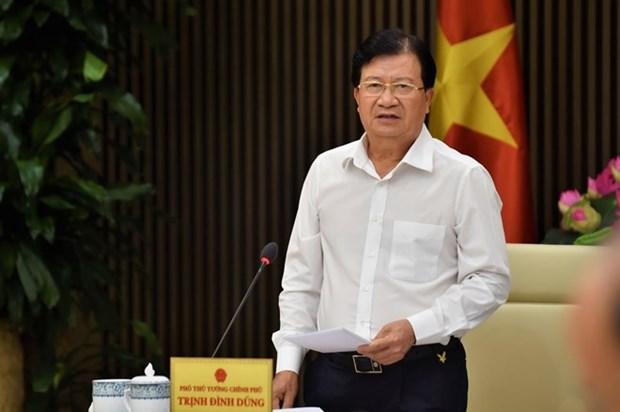 Le vice-PM Trinh Dinh Dung attendu aux Emirats arabes unis et en Tanzanie hinh anh 1