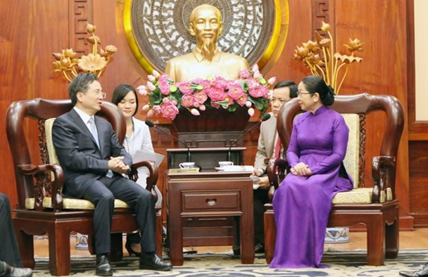 Ho Chi Minh-Ville veut renforcer ses liens avec les localites chinoises hinh anh 1