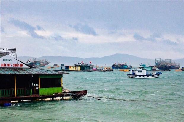 Des localites du Nord et du Centre se preparent au typhon Mun hinh anh 1