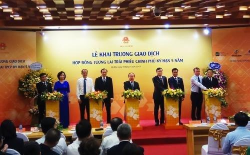 Le HNX lance des transactions de contrats a terme sur obligations du gouvernement hinh anh 1