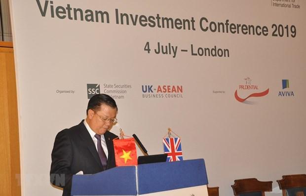 Conference sur la promotion des investissements a Londres hinh anh 1