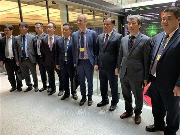 Le Vietnam et le Royaume-Uni ont un fort potentiel de cooperation financiere hinh anh 1