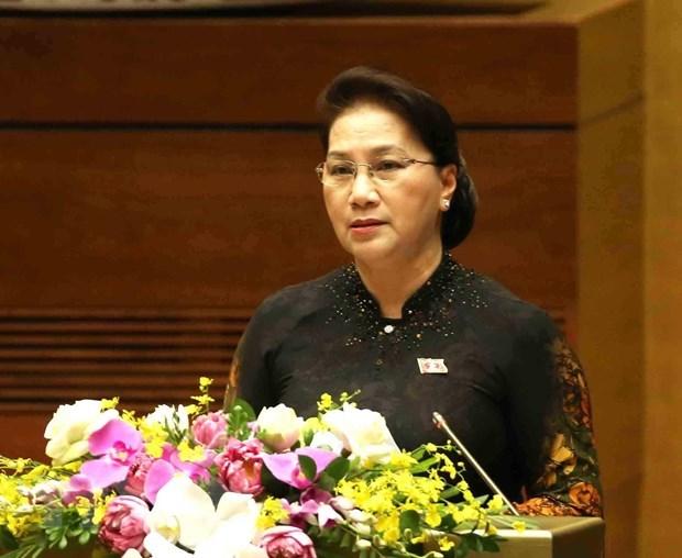 La visite en Chine de la presidente de l'AN va contribuer a la confiance politique bilaterale hinh anh 1