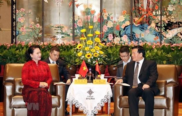 La province chinoise du Jiangsu veut renforcer ses liens avec le Vietnam hinh anh 1