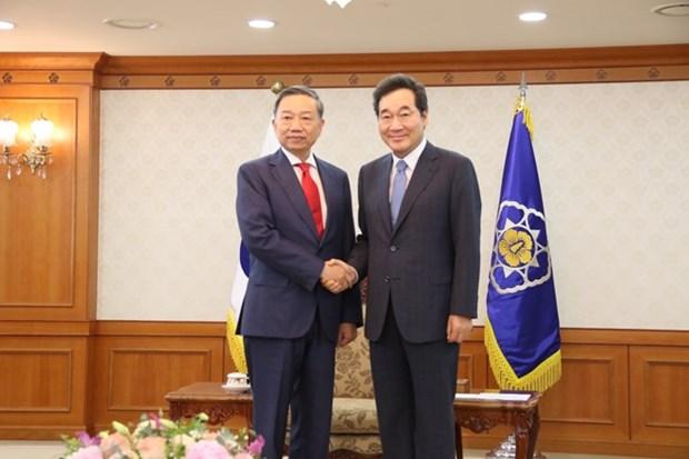 Vietnam et Republique de Coree renforcent leur cooperation securitaire hinh anh 1