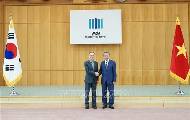 Vietnam et R. de Coree poursuivent leur cooperation dans la lutte contre la criminalite hinh anh 1
