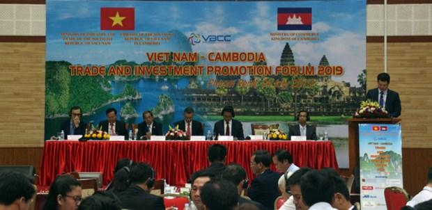 Forum pour la promotion du commerce et de l'investissement Vietnam – Cambodge 2019 hinh anh 1