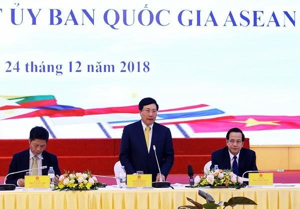 Le comite national de l'ASEAN 2020 tient sa troisieme reunion hinh anh 1