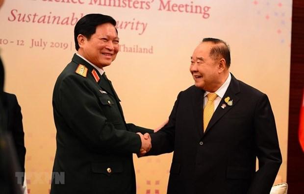 Defense : le Vietnam salue le role de la Thailande dans l'ASEAN hinh anh 1