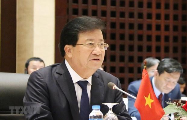 Le vice-PM Trinh Dinh Dung en visite de travail en Republique Unie de la Tanzanie hinh anh 1