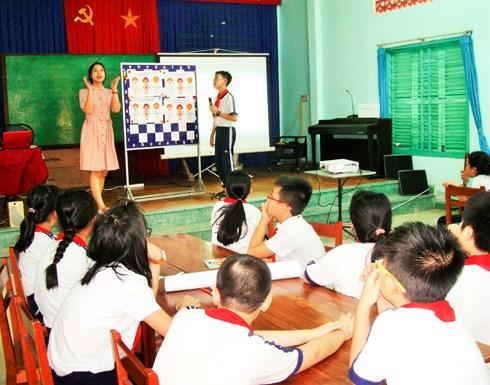Un projet pour sensibiliser les enfants contre les abus sexuels hinh anh 1