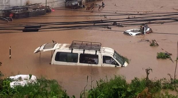 Les touristes vietnamiens secourus apres les inondations au Nepal hinh anh 1