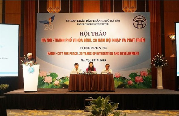 Hanoi fait le point sur ses 20 ans d'integration et de developpement hinh anh 1