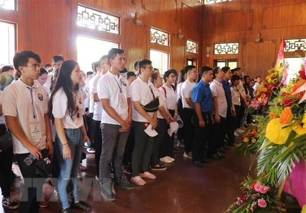 Camp d'ete 2019 : poursuite des activites des jeunes Viet Kieu a Nghe An hinh anh 1