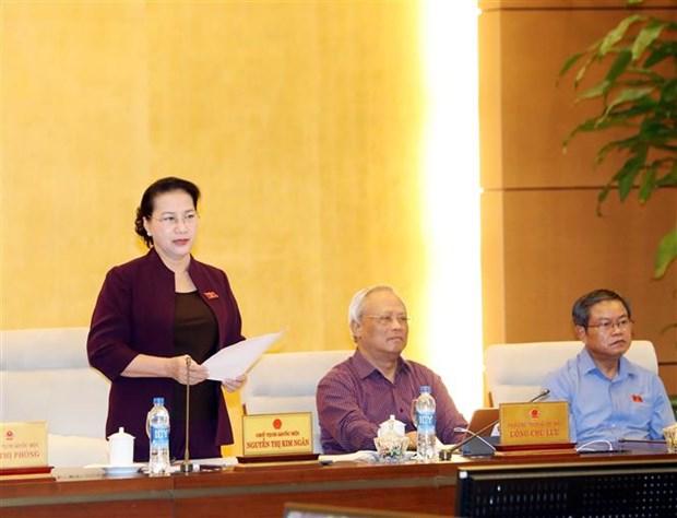 Le Comite permanent de l'Assemblee nationale clot sa 35e session hinh anh 1