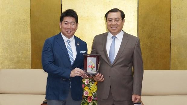 Resserrer les liens entre la ville japonaise de Kawasaki et Da Nang hinh anh 1
