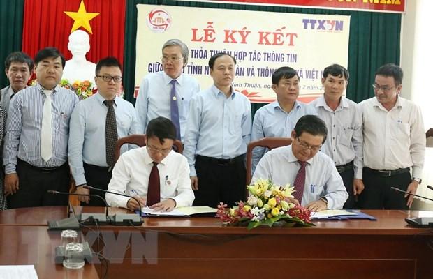 VNA et Ninh Thuan renforcent la cooperation dans les communications hinh anh 1