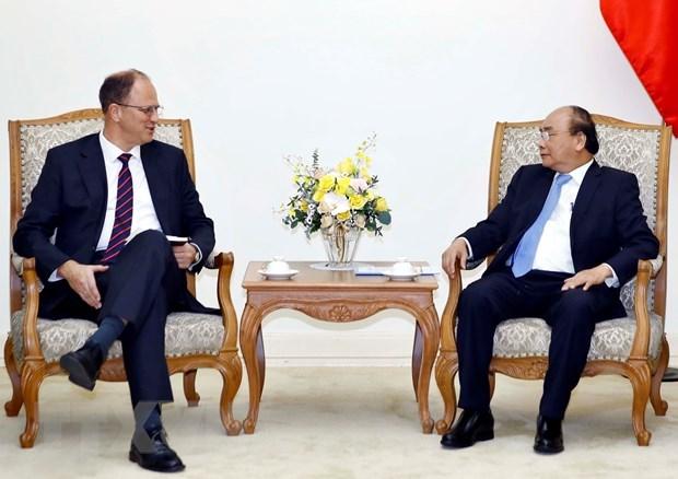 Le PM souhaite une cooperation integrale avec l'Allemagne hinh anh 1