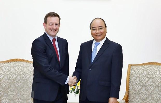 Le PM appelle a promouvoir la cooperation entre le Vietnam et la France hinh anh 1