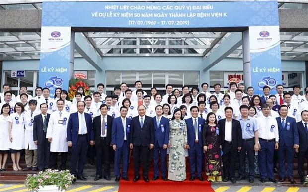 Le PM exhorte l'hopital K a devenir un centre de cancerologie regional hinh anh 2