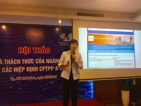 La filiere aquatique se prepare face aux accords CPTPP et EVFTA hinh anh 2
