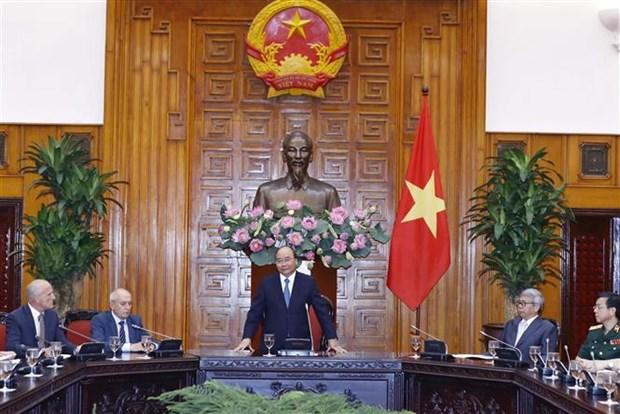 Le PM travaille avec des experts sur l'evaluation de l'etat du corps du President Ho Chi Minh hinh anh 1