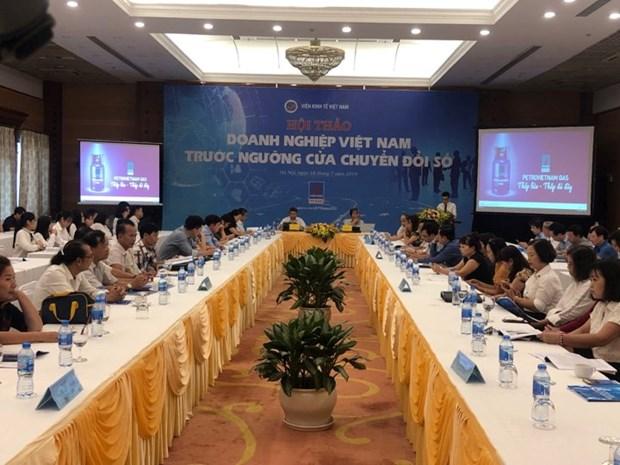 Les entreprises vietnamiennes au seuil de la transition numerique hinh anh 1