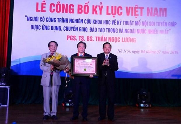 """La technique de thyroidectomie endoscopique """"Dr Luong"""" devient la plus utilisee hinh anh 2"""