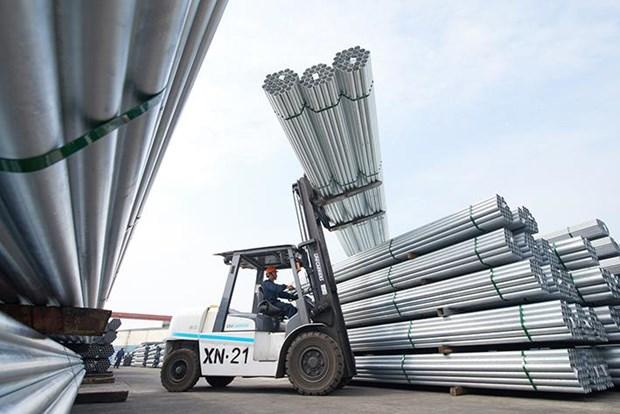 Les exportations nationales de l'acier et du fer se portent bien au 1er semestre hinh anh 1