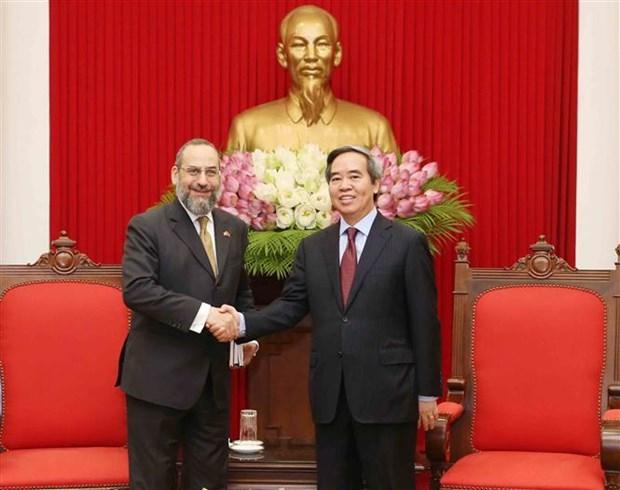 Une delegation du Departement americain du Tresor au Vietnam hinh anh 1