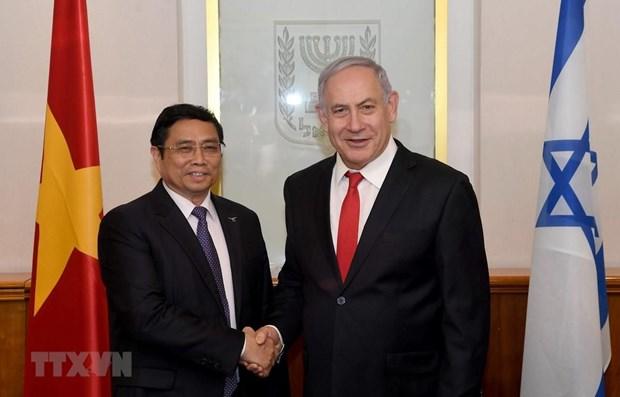 Une delegation du Parti en visite de travail en Israel hinh anh 1