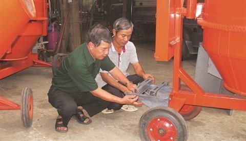 Dang Ngoc Toan, invalide de guerre et mecanicien devoue hinh anh 2