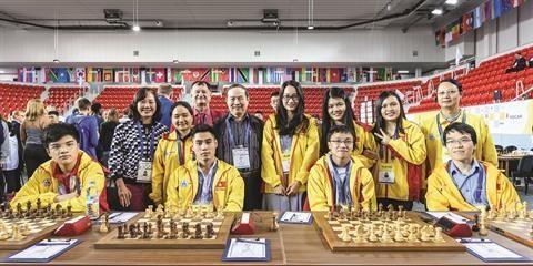 Championnat d'Asie d'echecs: Nguyen Anh Khoi fait cavalier seul hinh anh 3