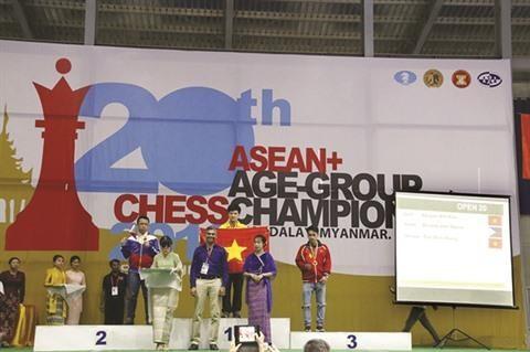 Championnat d'Asie d'echecs: Nguyen Anh Khoi fait cavalier seul hinh anh 2