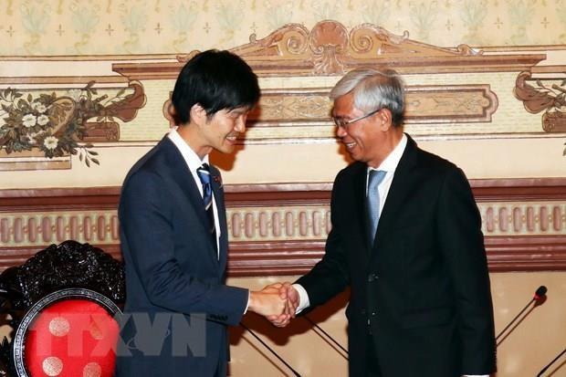 Ho Chi Minh-Ville souhaite un soutien supplementaire du Japon hinh anh 1