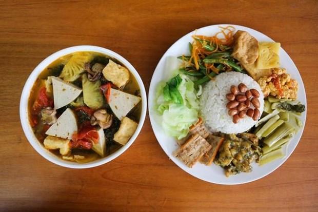 Le vegetarisme est dans l'assiette hinh anh 1