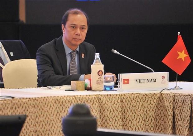 Le Vietnam assiste a des reunions des hauts officiels de l'ASEAN+3 et de l'EAS hinh anh 1