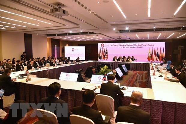 AMM-52: Les ministres discutent d'une serie de problemes regionaux hinh anh 1