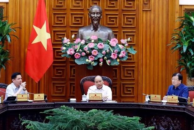 Premier ministre: l'inauguration de l'autoroute Trung Luong-My Thuan prevue pour 2021 hinh anh 1
