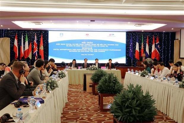 Colloque sur l'accord de libre-echange Vietnam-UE a Ba Ria-Vung Tau hinh anh 1