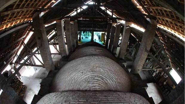 A Bat Trang, l'ancien four de poterie Lo Bau a l'epreuve du temps hinh anh 1