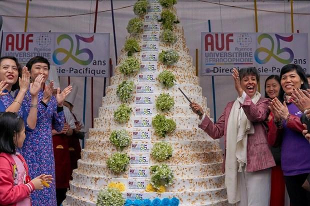 L'AUF, 25 ans d'action pour une francophonie universitaire solidaire hinh anh 1