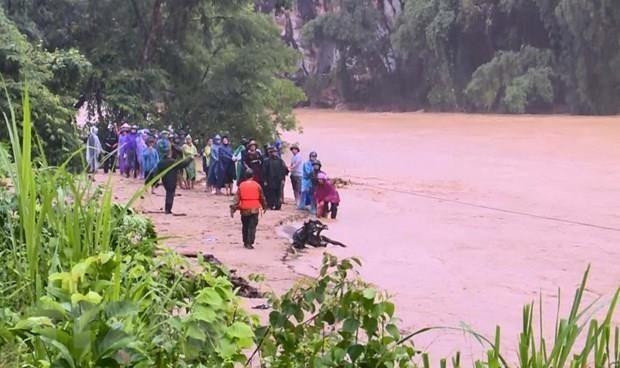 Le typhon Wipha fait cinq morts et 14 disparus au Vietnam hinh anh 1