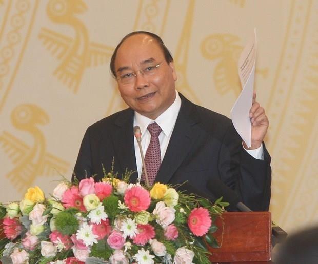 Le PM Nguyen Xuan Phuc souligne l'importance de l'education morale et civique hinh anh 1