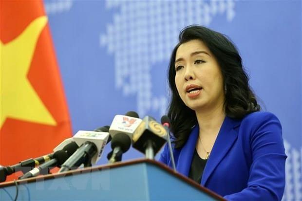 Le Vietnam proteste contre les exercices militaires chinois a Hoang Sa hinh anh 1