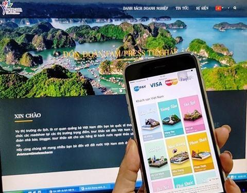Le tourisme vietnamien se renouvelle grace a l'outil electronique hinh anh 1
