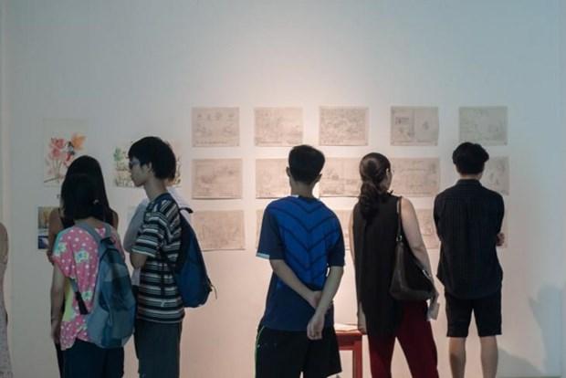 Les jeunes contribuent a la vitalite des arts traditionnels hinh anh 2