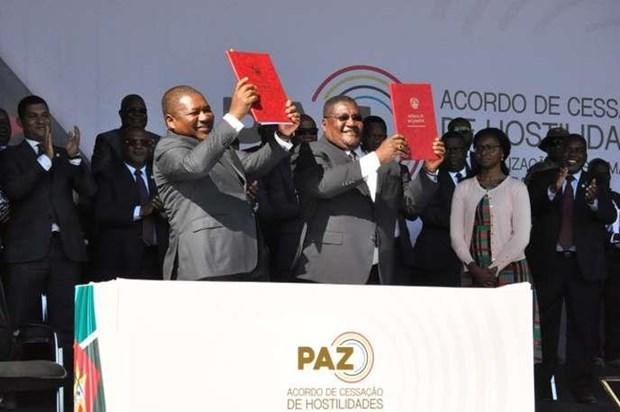 Le Vietnam felicite le Mozambique pour le traite de paix hinh anh 1