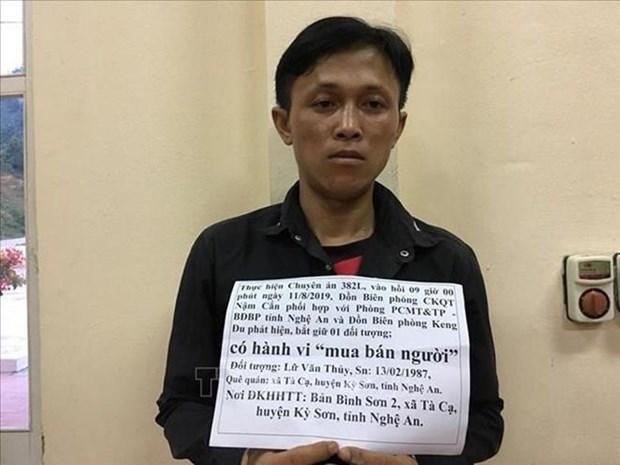 Un homme arrete a Nghe An pour trafic de femmes vers l'etranger hinh anh 1